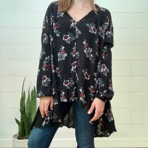 Free People Tops - Free People Floral Tunic